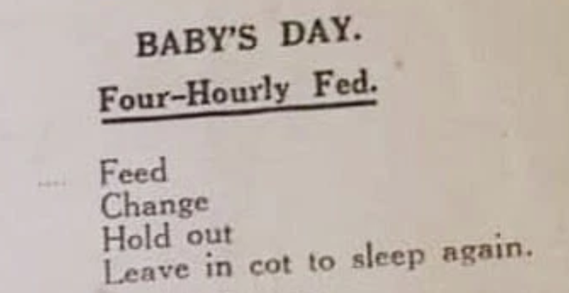 Baby's day 1950's / The Sun