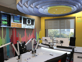 New East Coast Radio studios / Abhi Indarajan