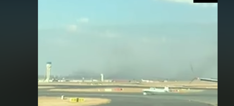 Light aircraft gatecrashes OR Tambo taxiway