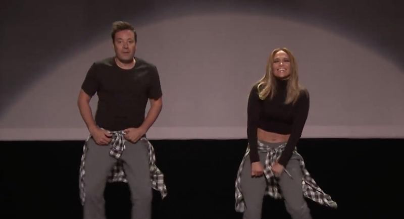 The History of Music Video Dancing (w/ Jennifer Lopez & Jimmy Fallon) / Facebook