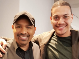 Rob Bentele and Terence Pillay / Instagram