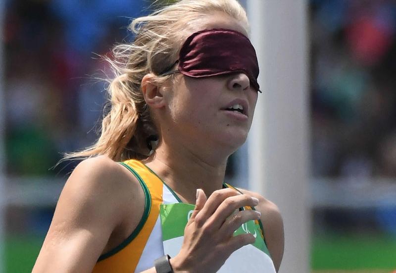 blind runner beautiful news