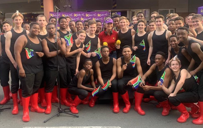 Kearsney College Choir at ECR Drive's Outside Broadcast / Nobuntu Swartbooi