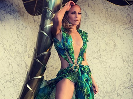 J Lo's iconic green dress / Instagram