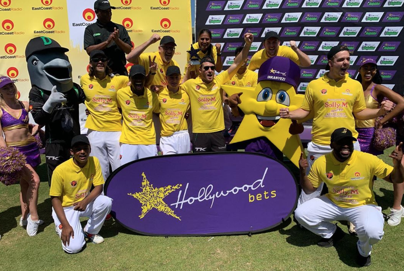 The East Coast Radio Allstars win The Greatest Showdown against The Hollywoodbets Dolphins / Supplied