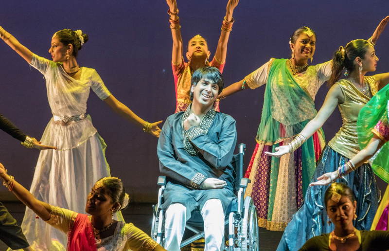 bollywood dancer wheelchair beautiful news