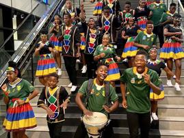 Ndlovu Youth Choir dedicates song to Bokke / Instagram (Ndlovu Youth Choir)