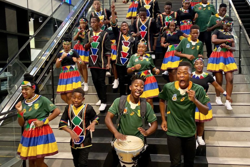 Ndlovu Youth Choir dedicates song to Bokke / Instagram (Ndlovu Youth Choir)