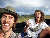 Luke MacDonald and Jordan Deall  / Instagram - Hitched