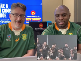 Darren and Sky react to the Micheal Jackson-style Haka / Facebook