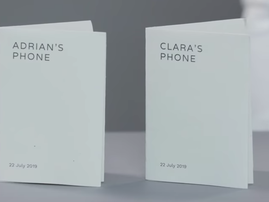 Google paper phone / YouTube
