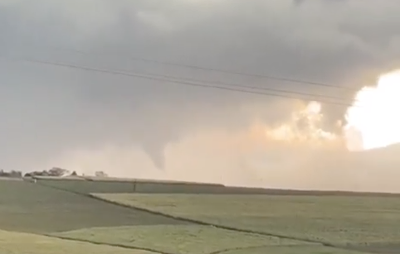Tornado in KZN / Facebook - Storm Report Live