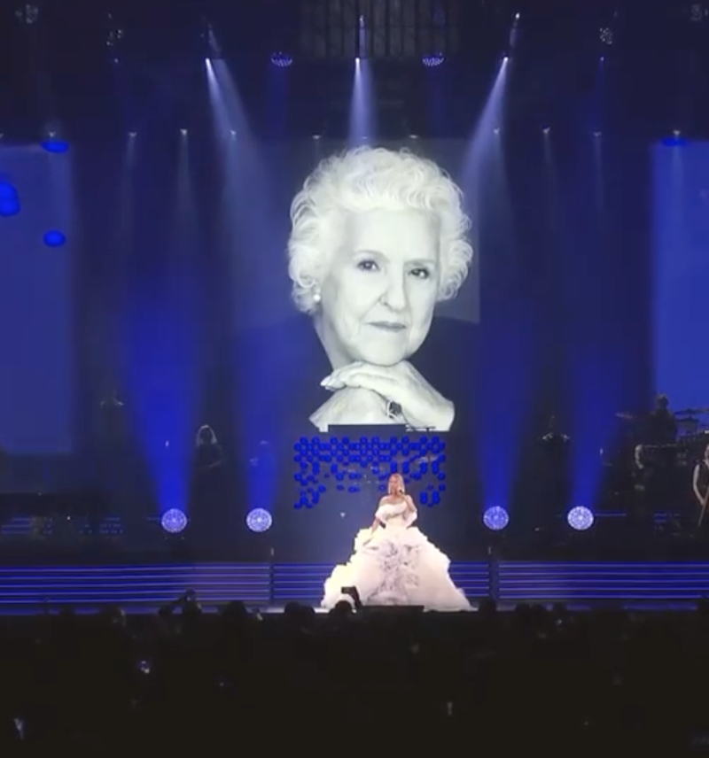 celine dion mother