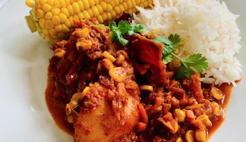Elana Afrika-Bredenkamp's Meat-Free Curry