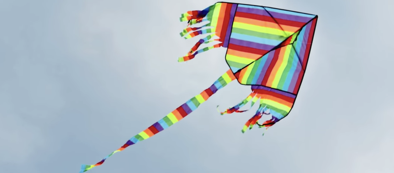 Beautiful News Kite