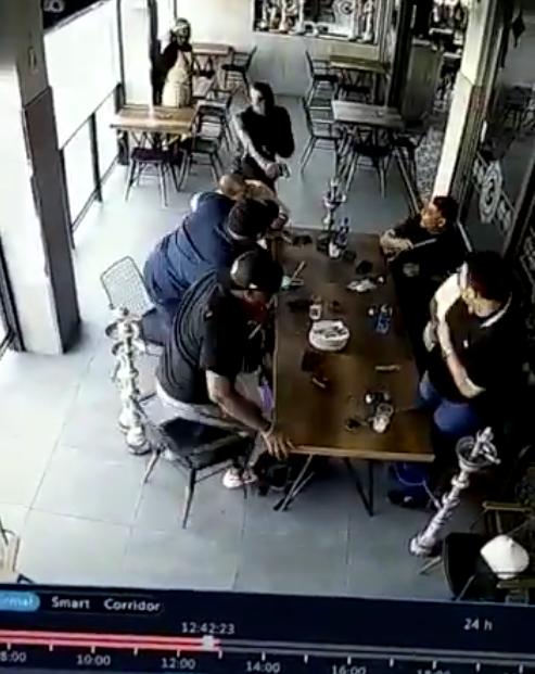 Rolex watch robber Breakfast
