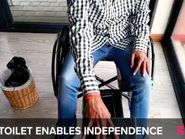 This toilet seat is enabling independence for wheelchair users