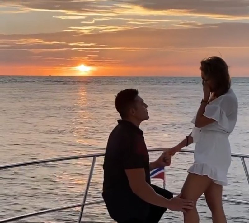 Proposal on boat