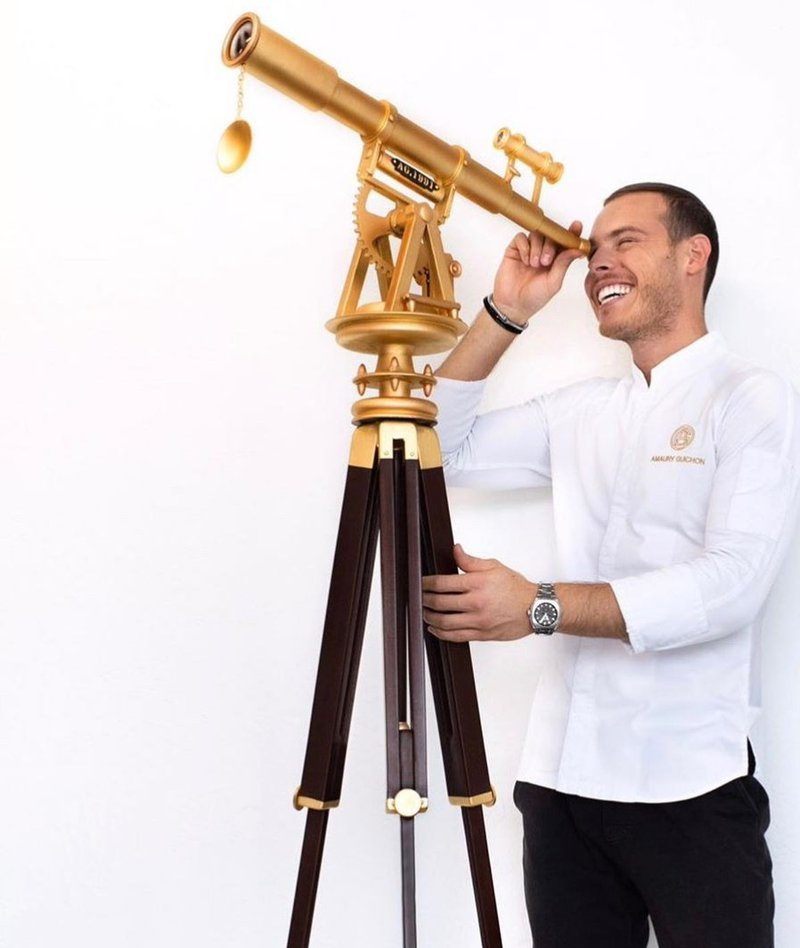 Chocolate telescope
