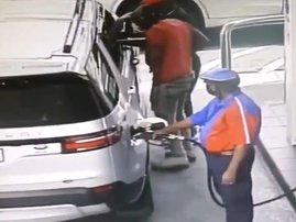 Robbery at Engen garage