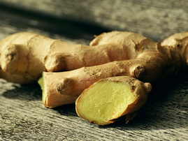 Ginger prices up