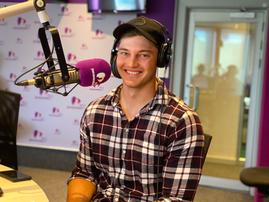 Brendan in studio 1