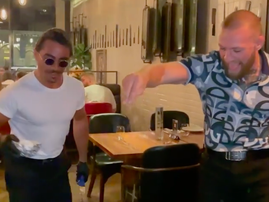 Conor McGregor Salt Bae