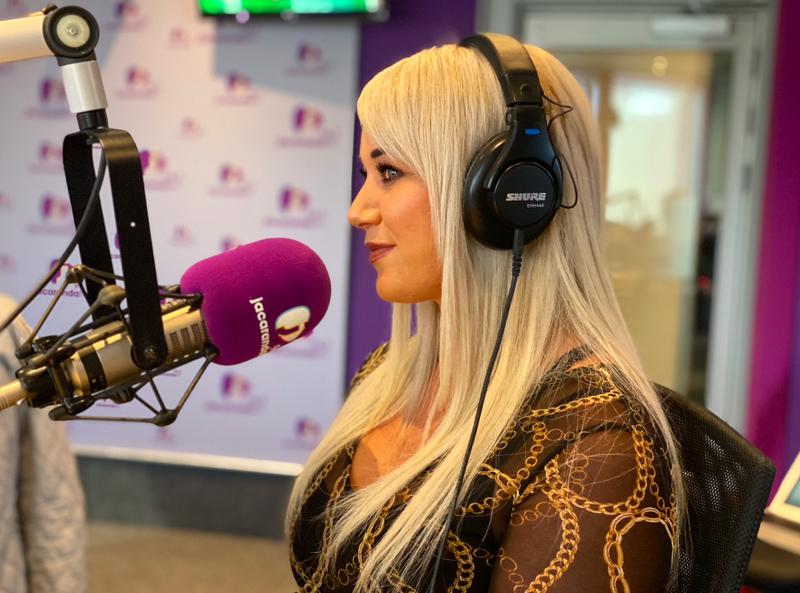 Bianca in studio