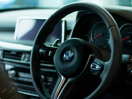 BMW inside