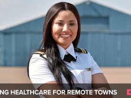 This aviator is piloting a project to make healthcare accessible to rural South Africans