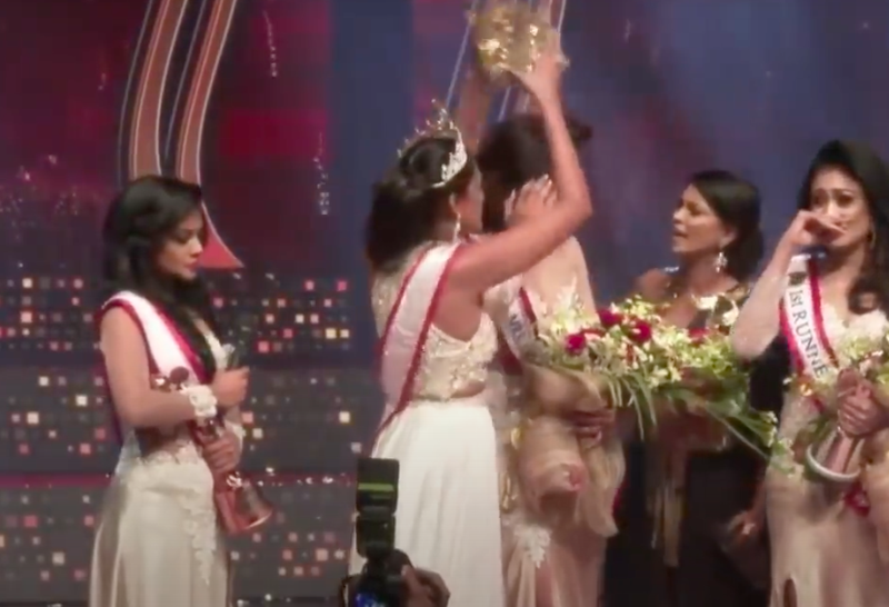 Mrs. Sri Lanka pageant
