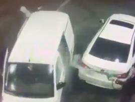 Man sprays thugs with petrol