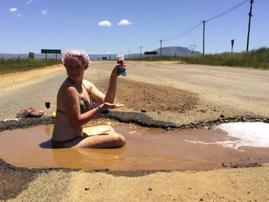 Pothole South Africa