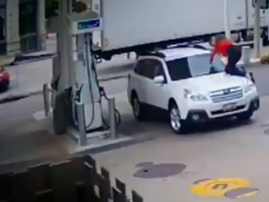 Woman escapes hijacking