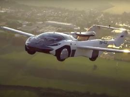 Flying car completes flight