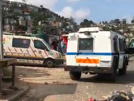 Lamontville KZN woman killed by police Inyala and paramedics on scene