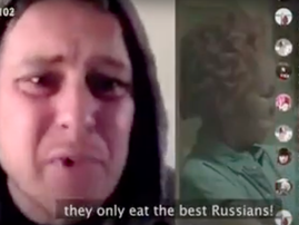 Russians reacts to South Africans eating 'Russians'