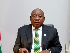 Cyril Ramaphosa ANC NEC Lekgotla September 2021