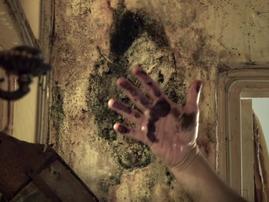 Credit: ITV/Mehdi lives among mould and faecal contamination
