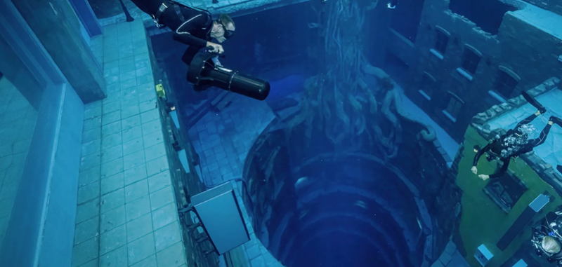 Deep Dive Dubai, located in the Nad Al Sheba, has been verified by the Guinness World Record as the deepest swimming pool in the world.