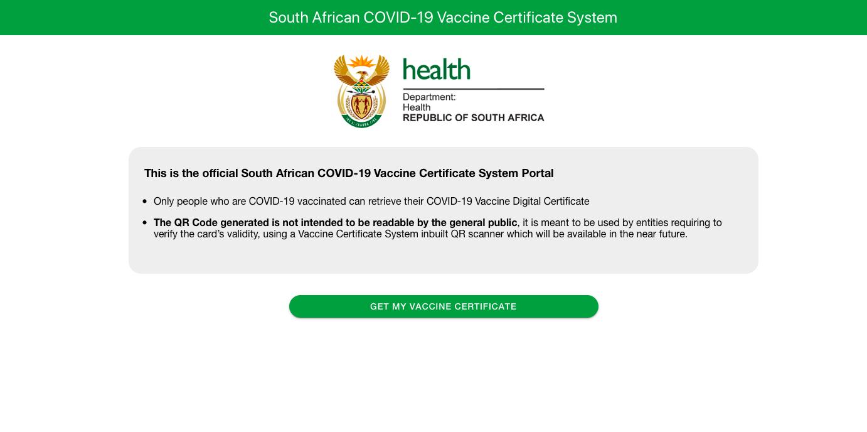 Digital Covid-19 vaccination certificate one