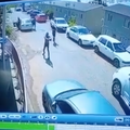 WATCH: Man escapes an alleged hit.