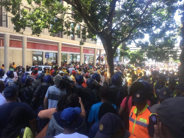 Ses'Khona protest
