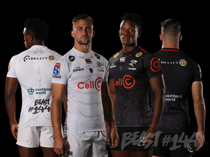bf59d308218 Beast celebrated in Sharks 2019 away jersey