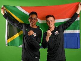 SA gamers,  Shiaan Rugbeer and Ryan Bastos