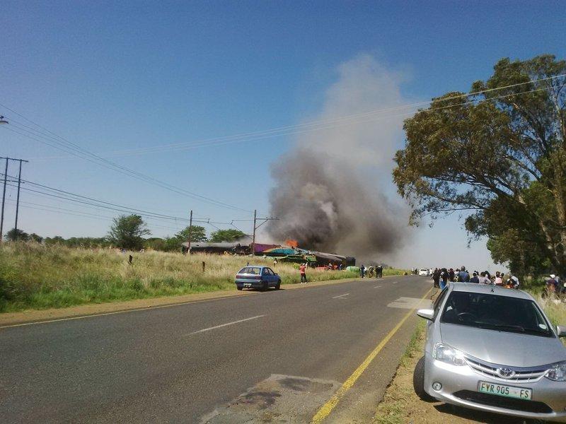 Shosholoza train crash