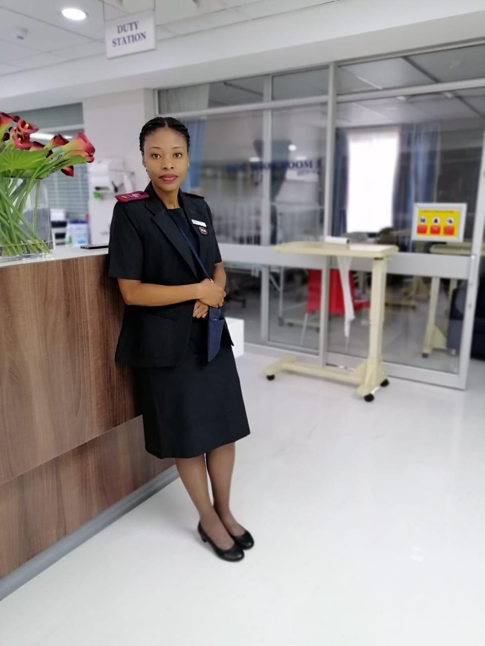 Nurse Thobile Mtshali