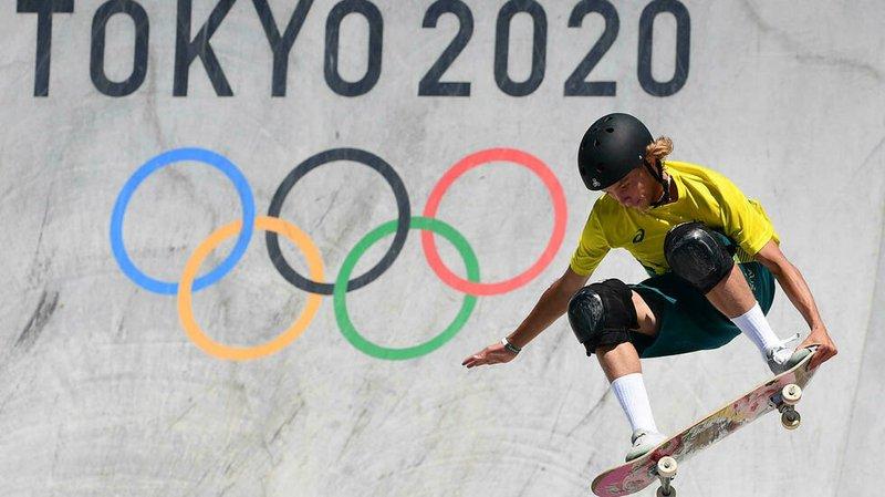 skateboarding gold with top-secret trick