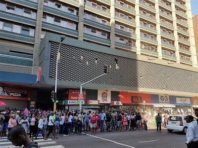 Durban Cbd Fire Contained
