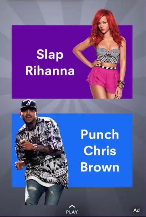 Snapchat game Rihanna